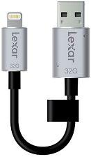 Brand New Lexar JumpDrive C20i 32GB Flash Drive 4 iPhone w/ Lightning Connector