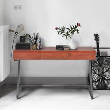 Z Shape Cherry Wood Top w/ Drawer Console Hallway Table LaptopStudy Workstation