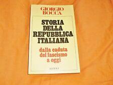 giorgio bocca storia della repubblica italiana dalla caduta del fascismo a oggi
