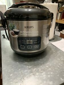 Krups Rice Cooker Steamer and Slow Cooker Serie R02