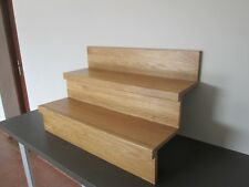 14 stairs oak cladding - system2 - OILED WITH PREMIUM HARDWAX-OIL