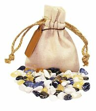 Knowledge Power Pouch Healing Crystals Stones Set Tumbled Natural Gemstones