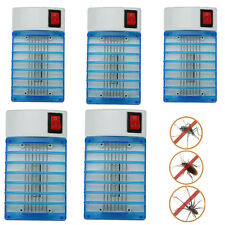 Lot5 X LED Socket Electric Mosquito Fly Bug Insect Trap Night Lamp Killer Zapper