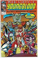 YOUNGBLOOD #1 NM SIGNED BY ROB LIEFELD W/COA IMAGE COMICS