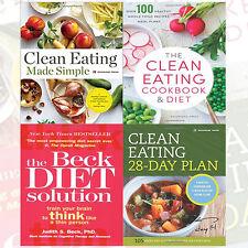 Rockridge Press & Judith S. Beck 4 Books Collection Set (Clean Eating,Beck Diet)