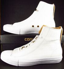 Converse Chuck Taylor All Star Alpha Hi WHITE Textured Leather 153113C 9 MEN