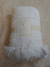 pottery barn kids tassel bed skirt twin new original $99 limited edition