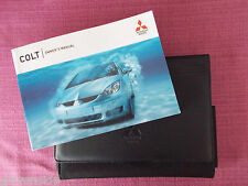 MITSUBISHI COLT 5 DOOR (2004 - 2008) OWNERS MANUAL - GUIDE - HANDBOOK (YJL 934)