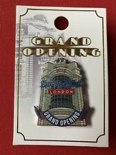 Hard Rock Cafe - London Piccadilly - 2019 Grand Opening Pin - Limited Edition