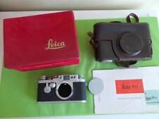 Leica/LEITZ IIIG fotocamera a telemetro Leica/LEITZ IIIG fotocamera in Scatola & IIIG caso