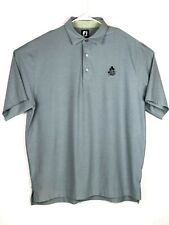 Footjoy Fj Mens Golf Polo Gray Short Sleeve Shirt Adult Size Xl Extra Large