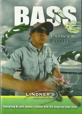 Bass Power Fishing (DVD, 2010) Lindner's Angling Edge - Ships within 12 hours!!!