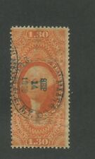 1863 United States Internal Revenue Foreign Exchange Stamp #R77c Used Ave.