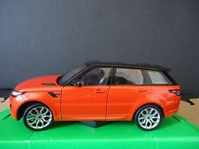 Welly Land Rover Range Rover Sport 2015 Orange with Black roof 1/24