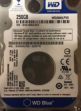 "Western Digital WD2500BEVT 250GB 8MB Cache 5400RPM SATA2 2.5"" Laptop Hard Drive"