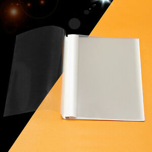 10 x A4 2mm Hot-melt Book Cover Surface Protector EVA Film Binding 9-20pages