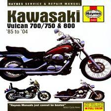 Haynes Motorcycle Repair Manual M2457 Kawasaki Vulcan 700 750 800 70-1026 274313