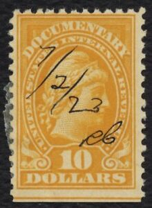 #R245 $10 Documentary: Liberty, Used [10] **ANY 5=FREE SHIPPING**