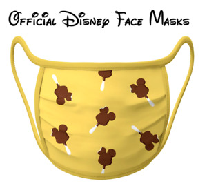 Mickey Ice Cream SEALED Disney Park Authentic Reusable Washable Cloth Face Mask