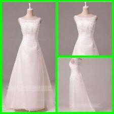 Lace Plus Size Chiffon A-Line Wedding Dresses