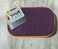 ZIPIt Colorz Pencil Case/Pencil Box/Storage Box,Orange and Purple