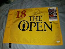 Rory McILROY signed autograph undated Open Championship official pin flag JSA