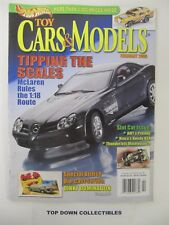 Hot Wheels Toy Cars & Models Magazine  February  2005  McLaren Rules 1:18 Route