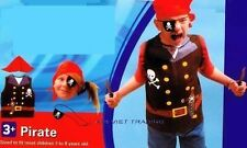 Boys / Girls Pirate costume pretend play Dress up 2pc set