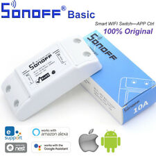 Sonoff Basic WiFi Wireless Smart Switch Module For IOS Android APP Control GL579