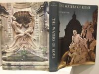 The Waters of Rome by H V Morton Hc Book DJ 49 Color Photos 1966 1st Ed FREE POS
