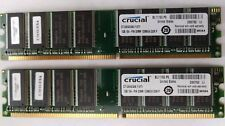 Crucial CT12864Z40B.Y16TY 2 x 1GB 184PIN DDR RAM