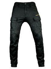 John Doe Jeans MEN STROKER CARGO Black mit XTM-Fiber, Motorrad Jeans