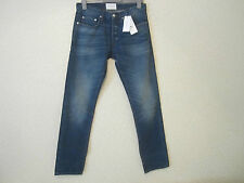 Sandro Washed Denim Distress Effect Straight Legs Jeans