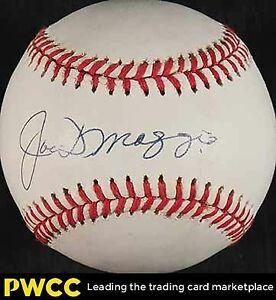 Joe Dimaggio Signed Autographed Baseball Sweet Spot Yankees PSA DNA COA  HOF