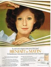 Publicité Advertising 1973 Cosmétique maquillage Crème Lancome