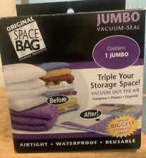 "Original Space Bag Storage Products JUMBO Vacuum-Seal Space Bag - NIB 35""x48"""