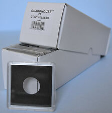 25 -GUARDHOUSE 2x2 TETRA PLASTIC SNAPLOCK COIN HOLDER for CENT / PENNY