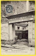 cpa 75 - PARIS 6 Rue de NORMANDIE Batiment CABINET de Henri BENJAMIN Vétérinaire