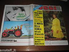 OGGI 1968/21=SOFIA SOPHIA LOREN=TOMAS MILIAN=FRANK SINATRA=DALIDA=BUSSETO=