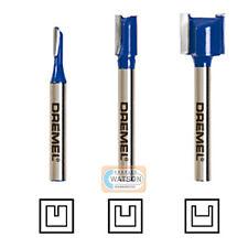 Dremel Multi Outil Accessoires TR673 TRIO Routeur Droit bit set pack 3