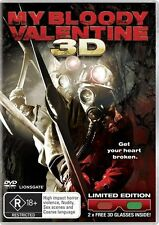 My Bloody Valentine 2D (DVD, 2009, 1-Disc Set)*R4*R Rated*VGC*Not 3D Version