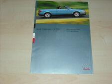 39794) Audi Cabrio TDi Prospekt 06/1995