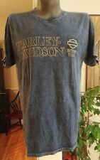 NWOT Harley Davidson Factory Tour Vehicle Operations York PA Blue XL Tshirt