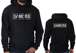SAMCRO Logo Hoodie Sons of Anarchy Motorcycle Biker Rider Tv Dad Gift SWEATER