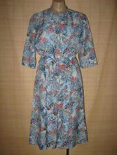Preloved RETRO 70's  2 PIECE shift Dress & Bolero size 14