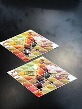 "New 5.5"" x 3"" Penny Diamond Skateboard Sticker Stickers Pair Skate Board"
