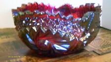 RUBY CARNIVAL 7 INCH BOWL