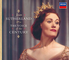 JOAN SUTHERLAND - THE VOICE OF THE CENTURY 2CD SET 2006 DIGIBOOK LIMITED EDITION