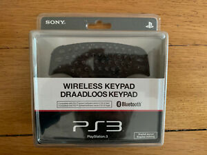 Official Sony Playstation 3 PS3 Wireless Keypad Chat Pad (FAST FREE POSTAGE)