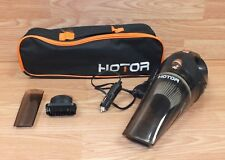 Genuine Hotor DC 12V Car / Portable Hand Held Vacuum w/ Bag & Parts **READ**